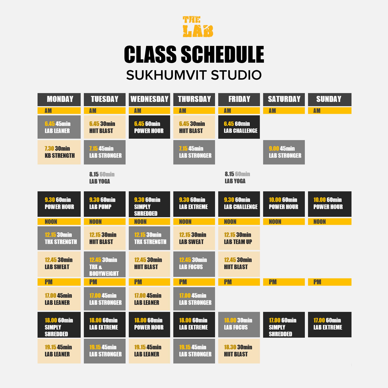 Timetable - Sukhumvit (March 2018) PNG
