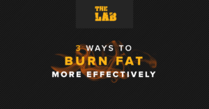 3 Ways to Burn Fat