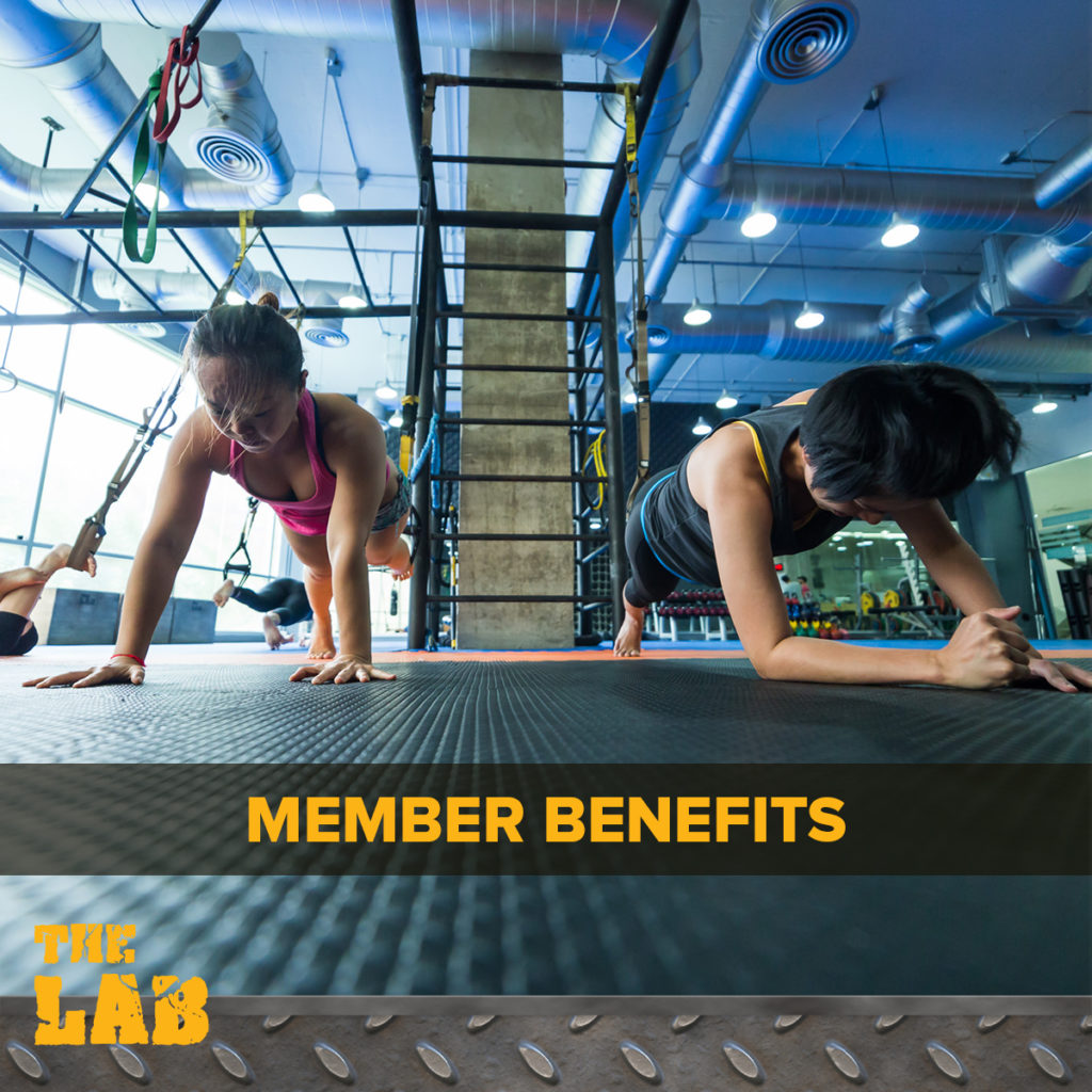 Benefits for Lab Membership Clients!