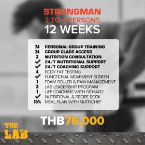 Strongman 12 Weeks