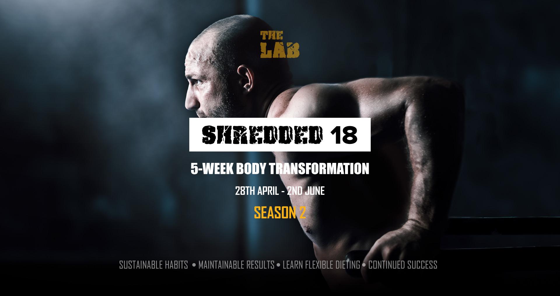Shredded 18 - Event Cover